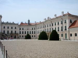 Eszterháza Palace, from the courtyard