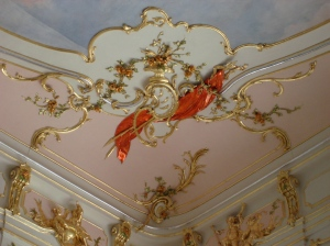 Detail from Ceremonial Hall, Eszterháza