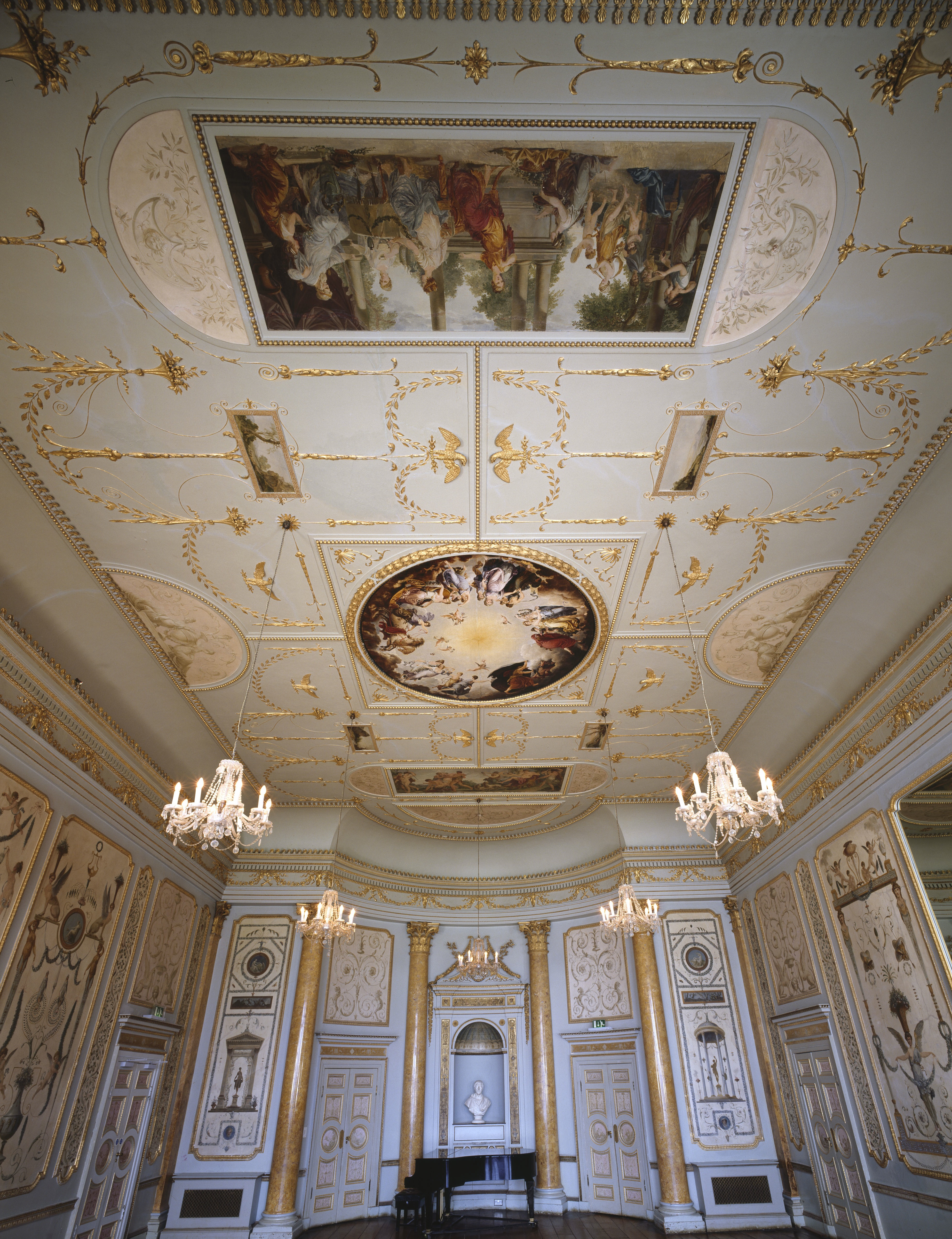 Music Room Stowe House