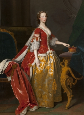 "Allan Ramsay, ""Lady Anne Campbell, Countess of Strafford, 1743 (Glasgow, The Hunterian)"