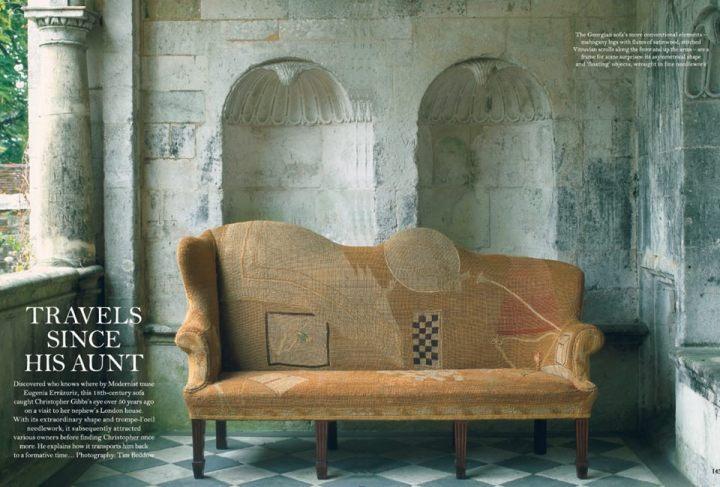 christopher gibbs and a remarkable georgian sofa