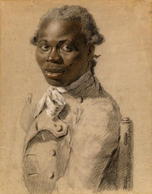 Joseph Ducreux (1735–1802) Portrait of a Gentleman, ca. 1802 Black, brown, red, and white chalk The Morgan Library & Museum Estate of Mrs. Vincent Astor, 2012