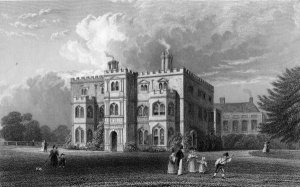 Marks Hall, Coggeshall, Essex, engraved by John Carr Armytage, 1833 (engraving)