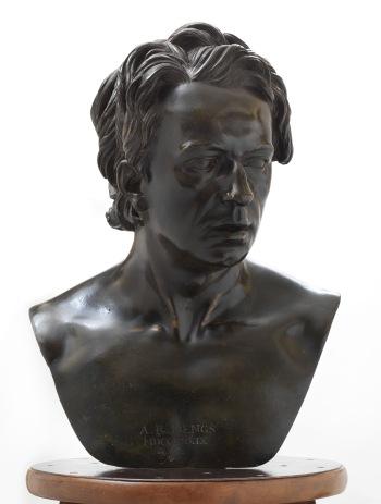 Christopher Hewetson, Anton Raphael Mengs, bronze, 51 x 38 x 26 cm, 1779 (Madrid, Museo Nacional de Artes Decorativas)