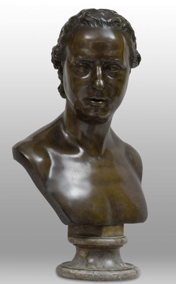 Christopher Hewetson, José Nicolás de Azara, bronze, 52 x 39 x 29 cm, 1779 (Private collection)