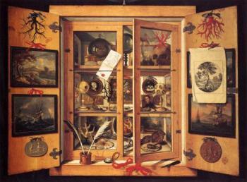 1690s Cabinet of Curiosities_1
