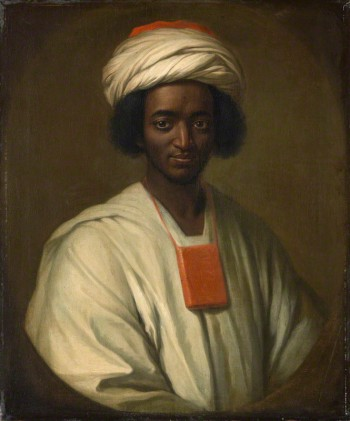 Ayuba Suleiman Diallo (Job ben Solomon) by William Hoare oil on canvas, 1733 30 in. x 25 in. (762 mm x 635 mm) Lent by Qatar Museums Authority/Orientalist Museum, Doha, OM 762, Qatar Museums Authority: Doha: Qatar, 2010 Primary Collection NPG L245
