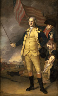Peale, Washington at the Battle of Princeton
