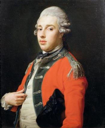 Pompeo Girolamo Batoni, Portrait of George James, 1st Marquess of Cholmondeley, oil on canvas (Marquess of Cholmondeley, Houghton Hall)