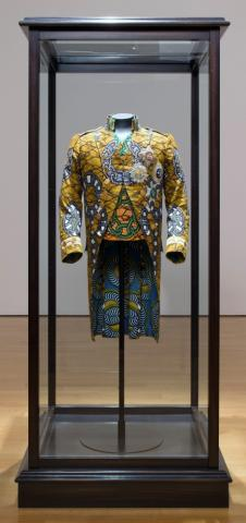 Yinka Shonibare MBE, Nelson's Jacket, 2011. Courtesy of the artist and James Cohan Gallery, New York/Shanghai