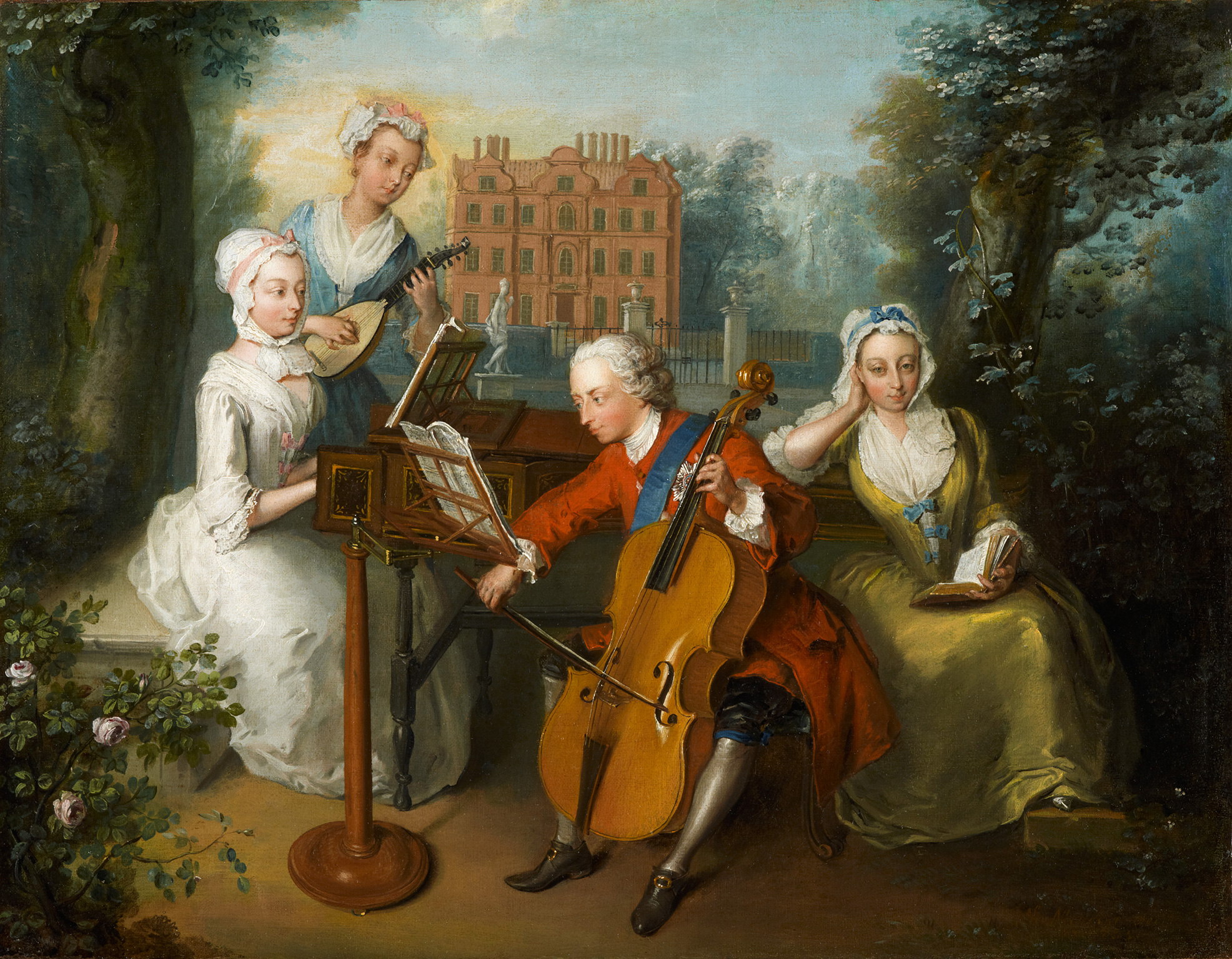 Image result for eighteenth century fete