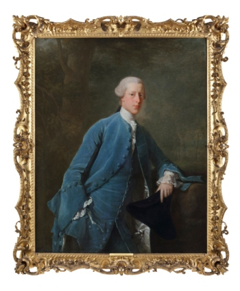 Alan Ramsay (1713-84) portrait of Francis Child III (1735-63). ©National Trust/John Hammond