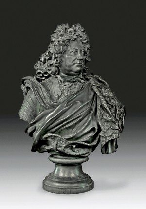 Bust of Landgrave Frederick II of Hesse Homburg, Berlin, 1701, bronze © Bad Homburg v. d. Höhe, Palace, Photo: Renate Deckers-Matzko