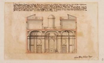 Lorenzo Possenti (Roma 1680/1690-1733) Progetti per la nuova chiesa di Sant'Andrea a Gallicano, 1731-1733 circa