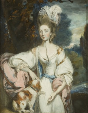 Mrs Henchman by Daniel Gardner (?1750-1805), drawing and watercolour © Bristol Musuem & Art Gallery