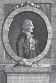 Portrait of Jean-Marie Hervagault, from Le Faux Dauphin actuellement en France, ou histoire d'un imposteur, se disant le dernier fils de Louis XVI (Paris: Lerouge, 1803)