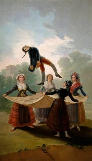 Francisco José de Goya y Lucientes, Straw Mannequin (El pelele), 1791–92 (Madrid: Prado)