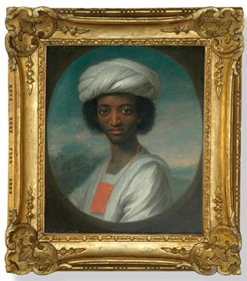 William Hoare, Portrait of Ayuba Suleiman Diallo, ca. 1733 (Jamestown-Yorktown Foundation)