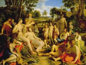 Gottlieb Schick, Apollo among the Shepherds, 1806–08, Staatsgalerie Stuttgart