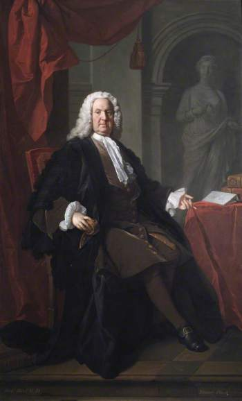 Allan Ramsay, Dr Richard Mead, 1747 (London: The Foundling Museum)