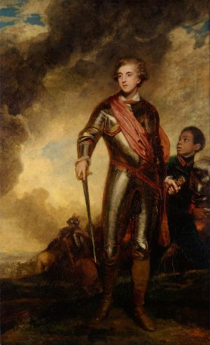 Sir Joshua Reynolds, Charles Stanhope, 3rd Earl of Harrington, 1782 (New Haven: Yale Center for British Art)