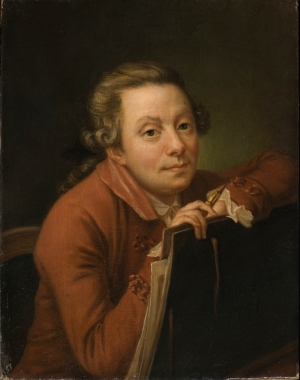 Pehr Hilleström, Self-Portrait, 1771 (Stockholm: Nationalmuseum; photo by Erik Cornelius)