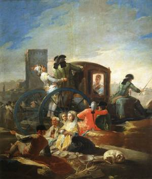 Francisco de Goya, The Pottery Vendor, 1778 (Madrid: Prado, P00780)