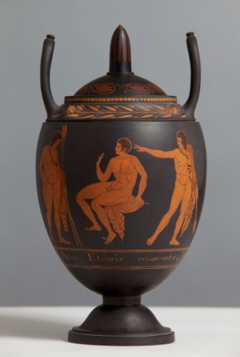 Josiah Wedgwood, The First Day's Vase, c.1769 (Wedgwood Museum Trust)