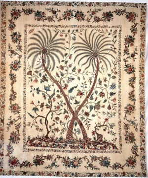 Chintz palampore, South-East India for export to Europe, ca. 1750–60 (London: V&A Museum no. IM 85-1937)