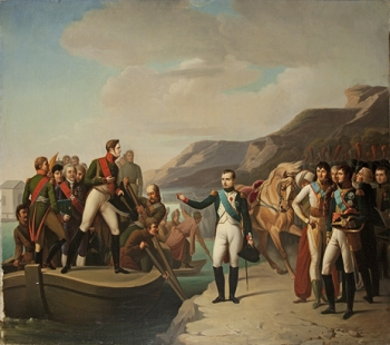 Anonymous, France (?), after Gioacchino Serangeli, Napoleon and Alexander I Bid Farewell after the Peace of Tilsit (State Hermitage Museum, St Petersburg)