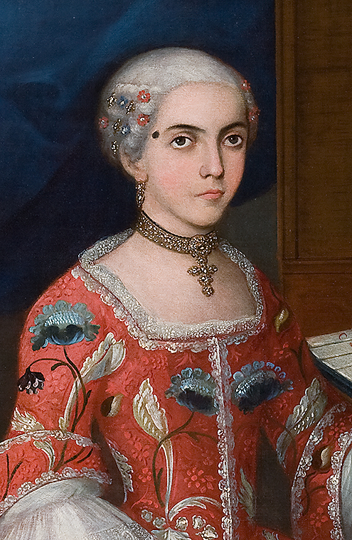 Exhibition Glitterati Portraits Amp Jewelry From Colonial
