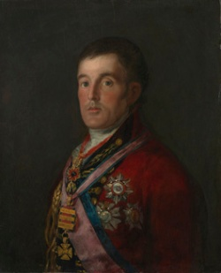 Francisco de Goya, Portrait of Arthur Wellesley, 1st Duke of Wellington, 1812–14 (London: The National Gallery).