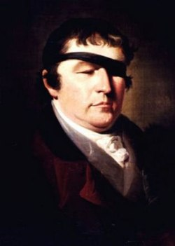 Moses Haughton (1773–1849), Portrait of Edward Rushton (Liverpool: Royal School for the Blind)