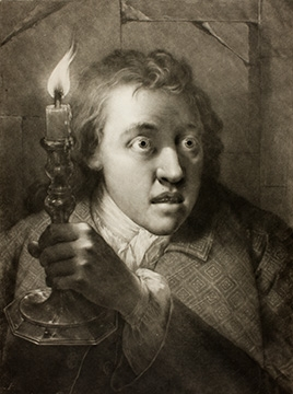 Thomas Frye, Young Man with a Candle, 1760 (Art Institute of Chicago)