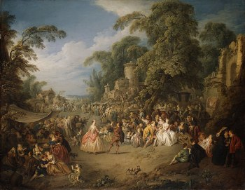 Jean-Baptiste Joseph Pater, The Fair at Bezons,ca. 1733 (NY: Metroplitan Museum of Art)