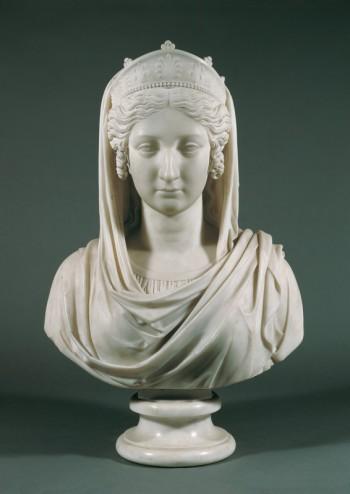 Johann Nepomuk Schaller, Bust of Empress Maria Ludovica Beatrix, 3rd wife of Emperor Franz I of Austria, 1814 (Vienna: Belvedere)