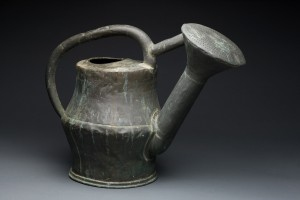 Watering Pot, made in France or England, 18th century, copper, iron.
