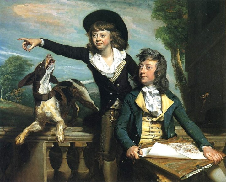 1783 John Singleton Copley (American artist, 1738-1815) Charles Callis Western and His Brother Shirley Western)