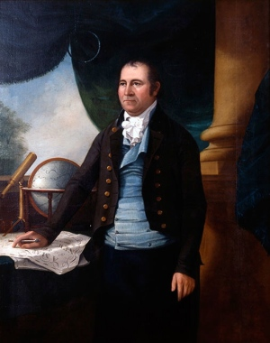 Ezra Ames, Portrait of Simeon De Witt, 1804 (Zimmerli Art Museum at Rutgers, photo by Jack Abraham)