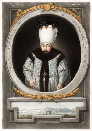 Portrait of Ottoman Sultan Mahmud I, 1815 (Baltimore: The Walters Art Museum)
