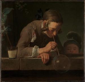 Jean-Siméon Chardin, Soap Bubbles, ca. 1733–34. Metropolitan Museum of Art, New York / Wentworth Fund, 1949