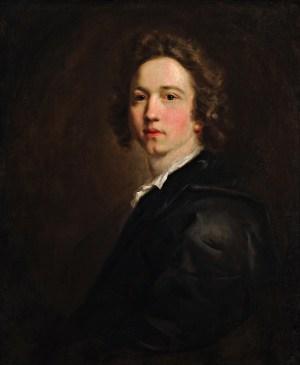 Sir Joshua Reynolds, Self-Portrait, ca. 1746 (Plymouth City Council)