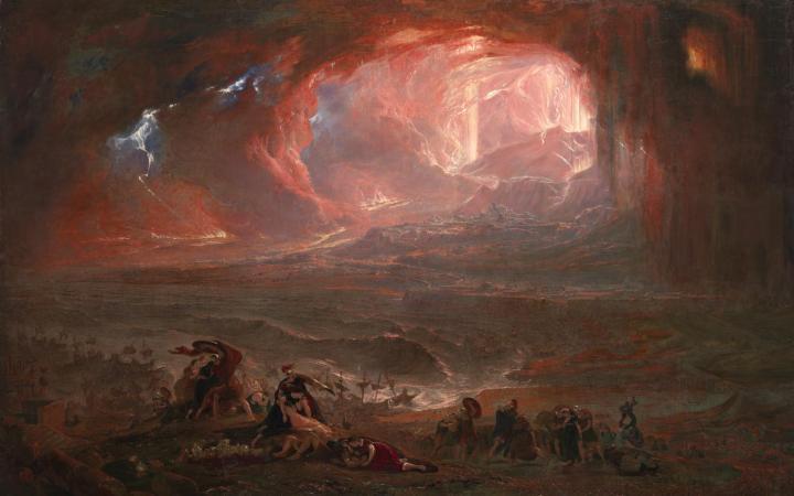 The Destruction of Pompei and Herculaneum 1822, restored 2011 John Martin 1789-1854 Purchased 1869 http://www.tate.org.uk/art/work/N00793
