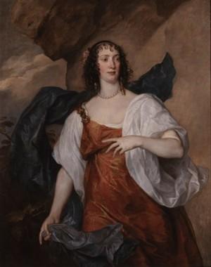 Anthony van Dyck (1599-1641), Portrait of Olivia Mrs. Endymion Porter, ca. 1637