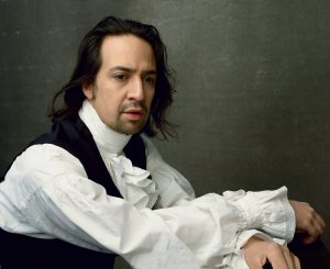 Lin-Manuel Miranda, photographed by Annie Leibovitz, Vogue, July 2015