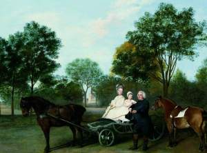 George Stubbs, The Rev. Robert Carter Thelwall and his Family (Bath: The Holburne Museum)