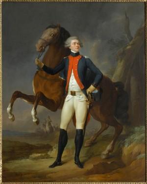Louis-Léopold Boilly, Portrait de La Fayette, 1788 (RMN-Grand Palais / Château de Versailles)