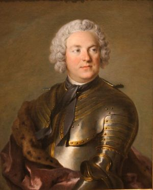 Louis Tocqué, Portrati of Gustaf Tessin (Stockholm: Natrionalmuseum)