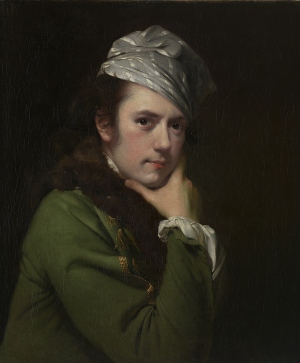 Joseph Wright of Derby, Self-portrait, 1765–68, oil on canvas (Melbourne: National Gallery of Victoria)