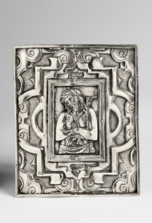 Pax Depicting the Ecce Homo, Peruvian, 18th century, silver (Roberta and Richard Huber Collection; photograph by Graydon Wood, Philadelphia Museum of Art)